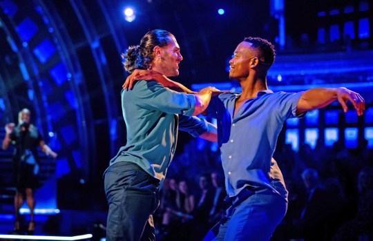 Johannes and Graziano Di Prima perform same-sex routine on Strictly Come Dancing