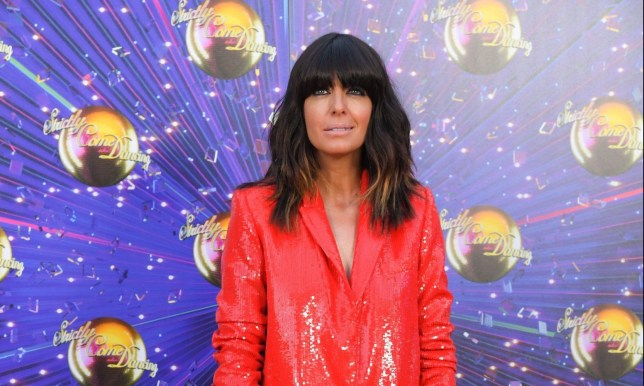 Mandatory Credit: Photo by David Fisher/REX (10370286en) Claudia Winkleman 'Strictly Come Dancing' TV show launch, BBC Broadcasting House, London, UK - 26 Aug 2019 Wearing Zara, High-Street Brand