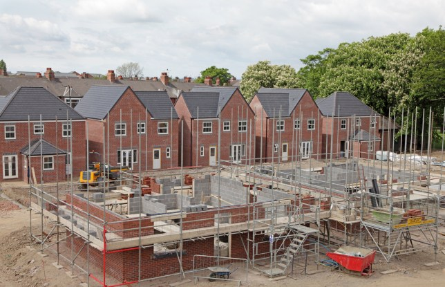 The government had promised to build the affordable homes to help first time buyers get on the property ladder (Picture: Getty Images)