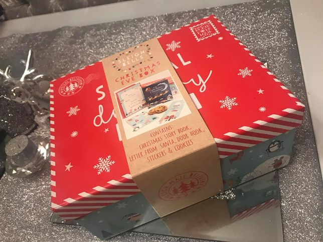 Christmas Eve boxes in home bargains ?2.99