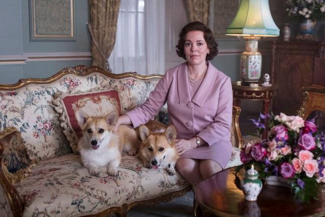 Olivia Colman as Queen Elizabeth II in a still from The Crown