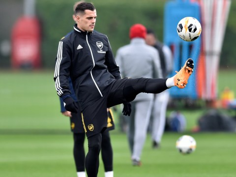Granit Xhaka tells Arsenal boss Unai Emery he can't play against Leicester City