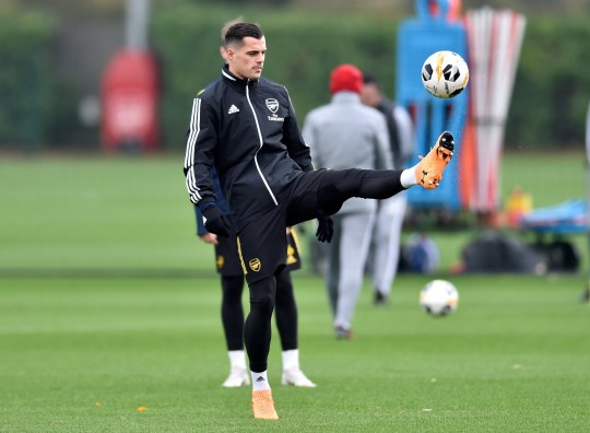 Xhaka feels let down by the Arsenal hierarchy