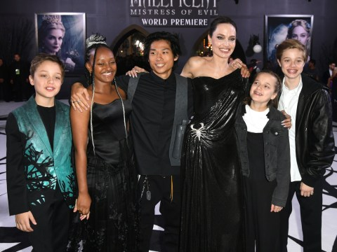 Angelina Jolie says her children have 'been through a lot' and helped her find her 'true self' again