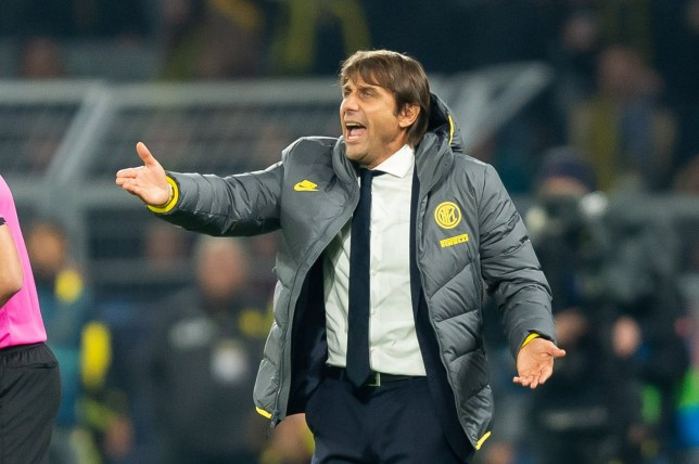 Antonio Conte was fuming after Inter's defeat to Borussia Dortmund in the Champions League