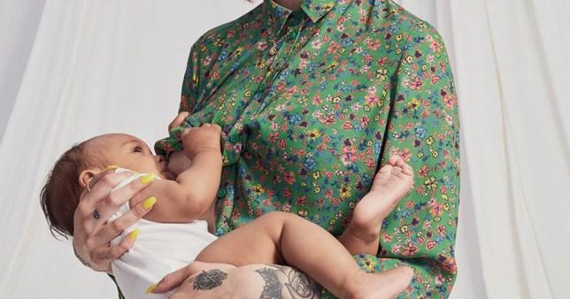 TU Sainsburys breastfeeding range