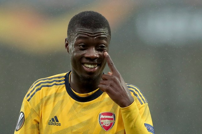Arsenal spent £72 million on Nicolas Pepe this summer