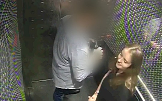 9.40pm: Just over an hour later Grace Millane and the defendant leave the lift at the hotel where he lived and head for room 308. The footage is the last time she was seen alive Undated handout cctv grab issued by Auckland City Police of Grace Millane inside a hotel lift with the 27-year-old male who is accused of her murder. PA Photo. Issue date: Thursday November 7, 2019. The male defendant, who cannot be named for legal reasons is on trial accused of strangling the British backpacker from Wickford, Essex, during rough sexual intercourse at his apartment in the centre of the city on either December 1 or December 2, 2018, the date of Ms Millane's 22nd birthday. See PA story COURTS Millane. Photo credit should read: Auckland City Police/PA Wire NOTE TO EDITORS: This handout photo may only be used in for editorial reporting purposes for the contemporaneous illustration of events, things or the people in the image or facts mentioned in the caption. Reuse of the picture may require further permission from the copyright holder.