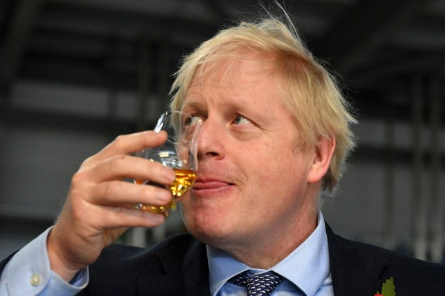 Boris Johnson claimed 'I've had to give it up until we get Brexit done' (Picture: AP)