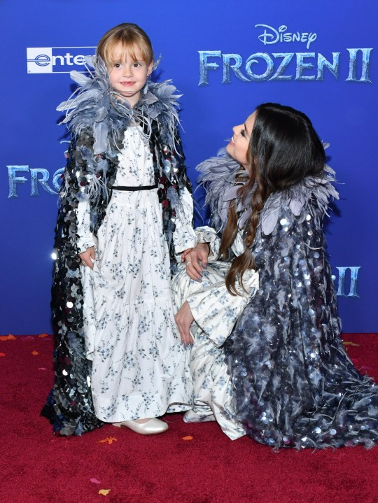 Selena Gomez and her little sister Gracie Teefey