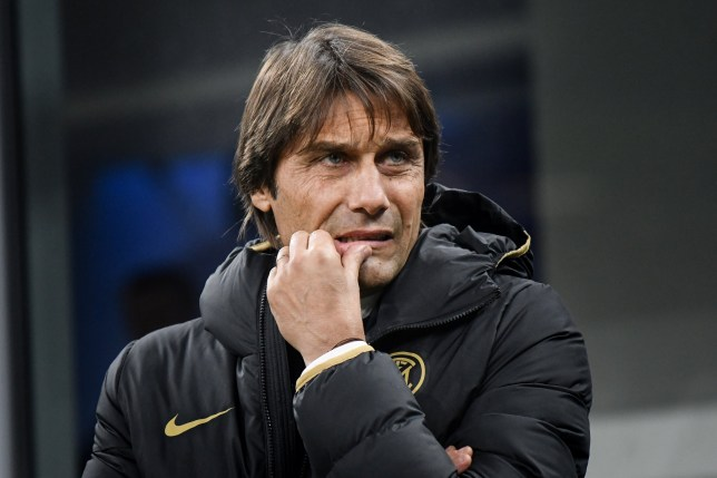Antonio Conte under police protection after receiving a bullet in the post