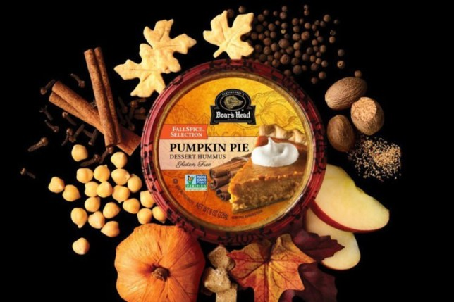 Pumpkin pie hummus exists and it might be taking PSL season too far