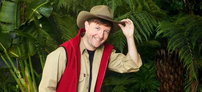andrew maxwell from I'm a celebrity 2019