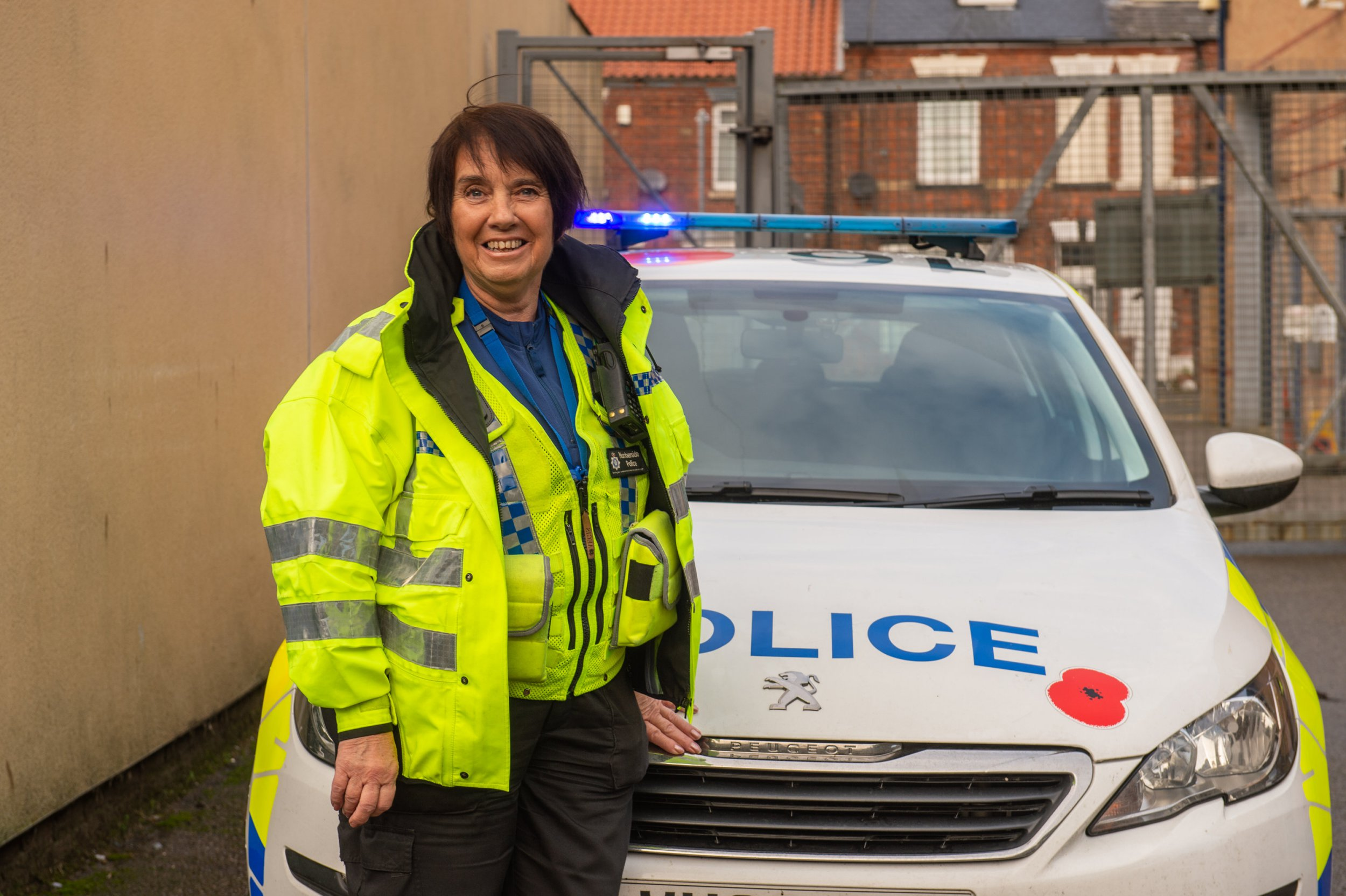 Gran, 71, is UK's oldest PCSO and has no plans to retire