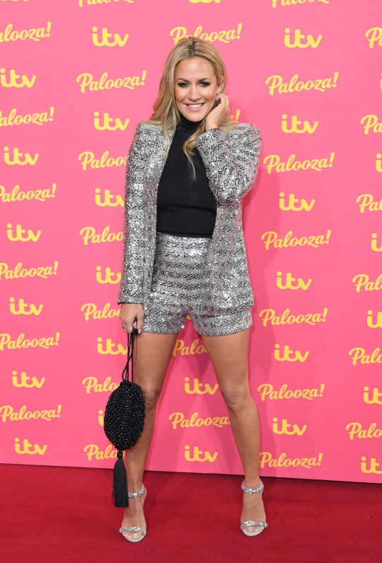 Caroline Flack attends the ITV Palooza! at the Royal Festival Hall, London, UK. 12/11/2019 Credit Photo (c)Karwai Tang For more information, please contact: Karwai Tang 07950 192531 karwai@karwaitang.com