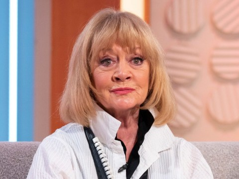 Coronation Street legend Amanda Barrie accidentally flashed delivery driver