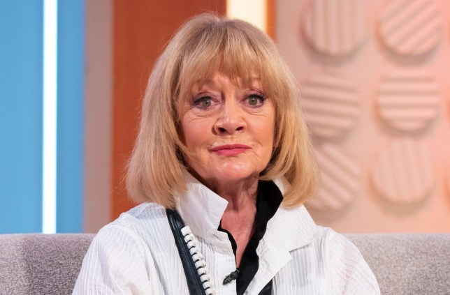 Editorial use only Mandatory Credit: Photo by Ken McKay/ITV/REX (10473642s) Amanda Barrie 'Lorraine' TV show, London, UK - 13 Nov 2019 AMANDA BARRIE & HILARY BONNER - CELEBRATING 5 YEARS OF MARRIAGE In their first interview together - the former Corrie star joins Lorraine along with her wife, whose new novel is based on Amanda. The couple also reveal why Gordon Ramsey inspired them to work together, as well as telling us about how they celebrated five years of married bliss.