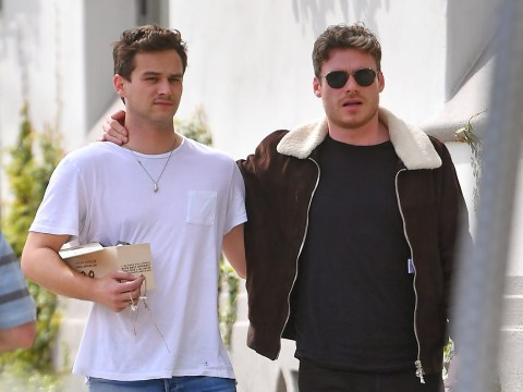 Richard Madden and Brandon Flynn are no longer living together after 'falling out' with each other