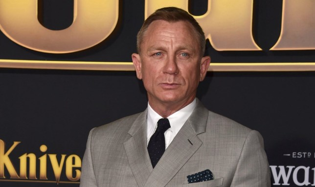 "WESTWOOD, CALIFORNIA - NOVEMBER 14: Daniel Craig attends the premiere of Lionsgate's ""Knives Out"" at Regency Village Theatre on November 14, 2019 in Westwood, California. (Photo by Alberto E. Rodriguez/FilmMagic)"