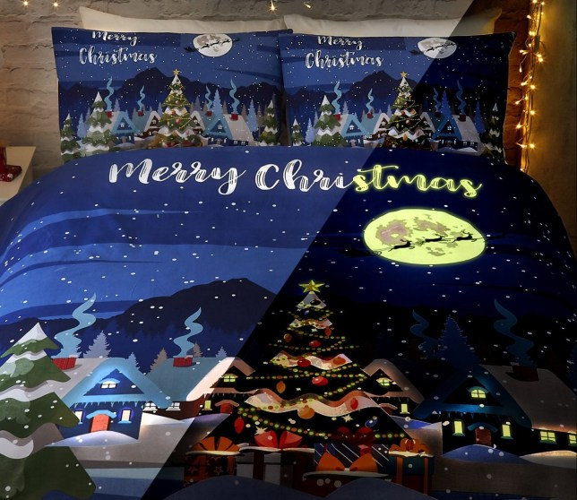 You Can Now Get Glow In The Dark Christmas Bedding Metro News