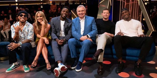 Dermott O'Leary on Eamonn Holmes leaving The Lateish Show With Mo Gilligan early