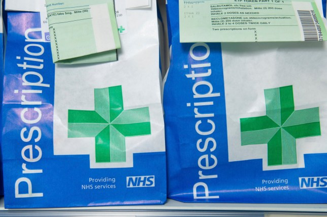 Prescriptions UK. (Photo by Photofusion/Universal Images Group via Getty Images)