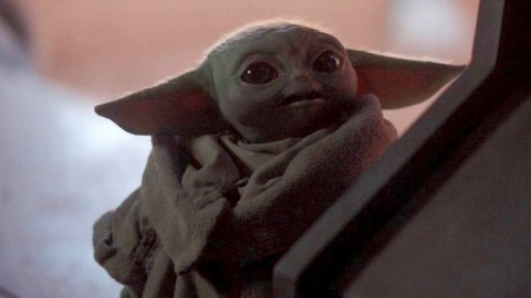 Image result for baby yoda looking cute