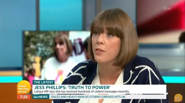 Tories cheating public again by showing old video of Labour's Jess Phillips