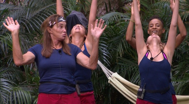 I'm A Celebrity's Nadine Coyle teaches Caitlyn Jenner Girls Aloud dance moves – and it's pure comedy gold