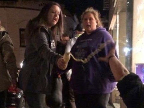 Woman who humiliated homeless man by throwing milkshake on him spared jail