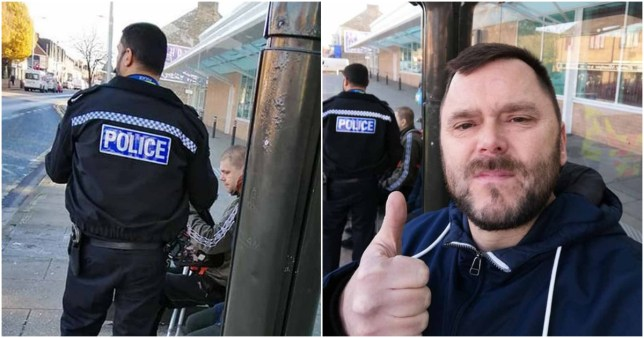 Graham Lamb spotted Valerijs Gordijs on a bus in Hull so stopped him and flagged down police (Picture: MEN)