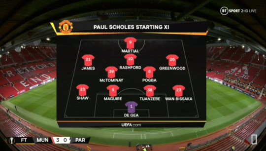 Paul Scholes Tells Ole Gunnar Solskjaer His Best Man Utd Starting Xi Metro News