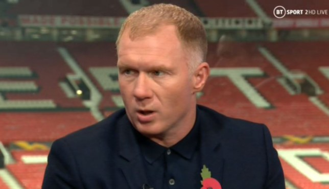Former Manchester United midfielder Paul Scholes on BT Sport