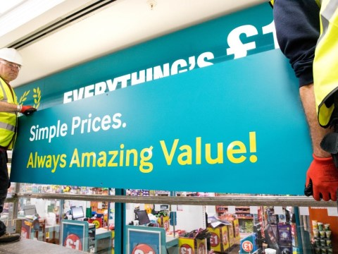 Poundland ditches 'everything's £1' slogan as they change price structure across all stores