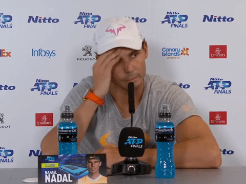 Rafael Nadal blows up at journalist over 'bulls**t' marriage question after ATP Finals defeat