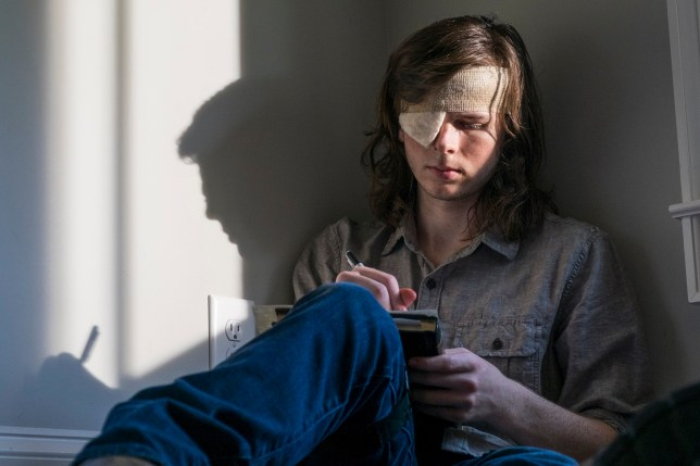 Chandler Riggs as Carl Grimes The Walking Dead