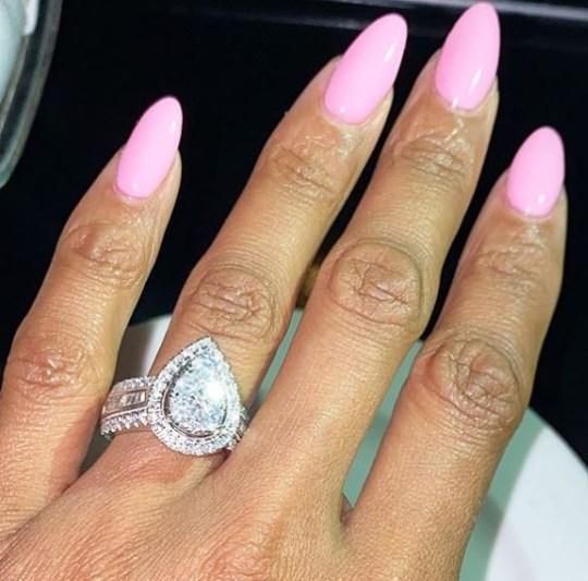 Resultado de imagen para Lamar Odom & Sabrina Parr Are Engaged - See Her Ring!