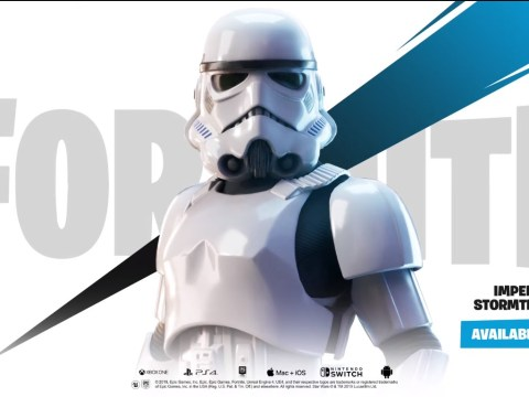 Star Wars comes to Fortnite with new Stormtrooper skin