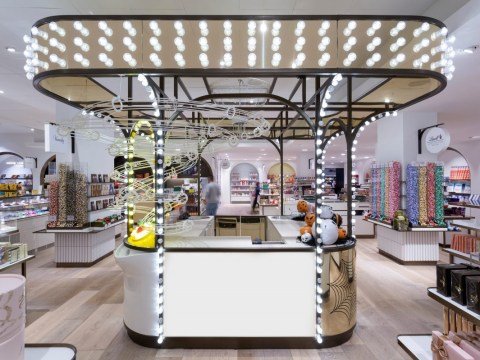 Selfridges opens a new sweets hall with the largest vegan counter in the UK