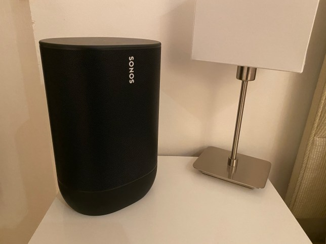 The Sonos Move is the company's first truly portable, battery-equipped speaker (Metro.co.uk)