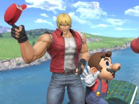 Terry Bogard DLC coming to Super Smash Bros. Ultimate today