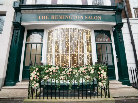Get your hair done for free at this Remington pop-up salon