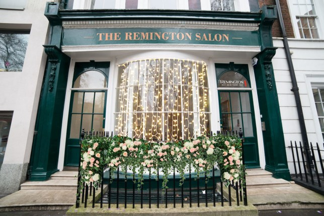 Remington hair salon store front