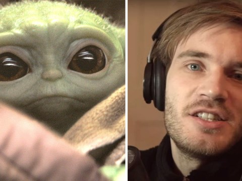 PewDiePie wants to 'eat Baby Yoda' as Star Wars fans freak out over adorable character