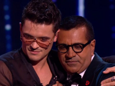 X Factor: Celebrity's Martin Bashir makes it through after forgetting lyrics as Jonny and Victoria go home