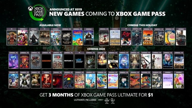 Xbox Game Pass gets 50 new games, inc. The Witcher 3 and Final Fantasy