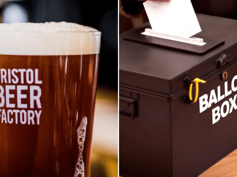 Bar lets homeless people register to vote using their address