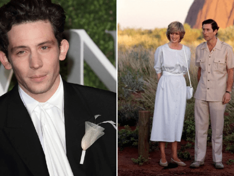 The Crown's Josh O'Connor praises Emma Corrin they film as Princess Diana and Prince Charles in season 4