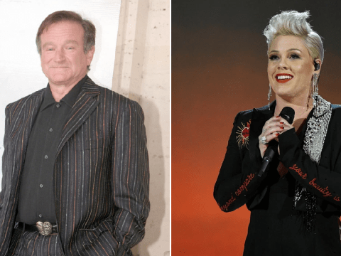 Robin Williams staged 15-minute stand-up show to distract Pink from losing Grammys