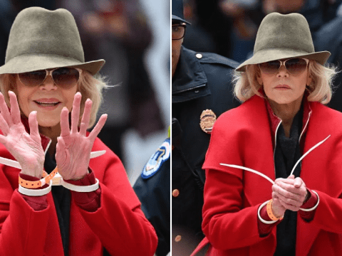 Jane Fonda arrested for fourth time after delivering iconic Bafta speech in handcuffs